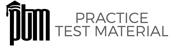 Logo for Practice Test Material